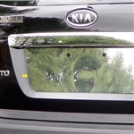 Kia Sorento Chrome License Plate Bezel, 2011, 2012, 2013, 2014