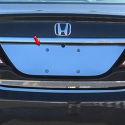 Honda Civic Sedan Chrome License Plate Bezel, 2012, 2013, 2014, 2015