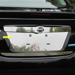 Nissan Versa Sedan Chrome License Plate Bezel, 2012, 2013, 2014, 2015, 2016, 2017, 2018