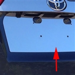 Toyota Rav4 Chrome License Plate Bezel, 2013, 2014