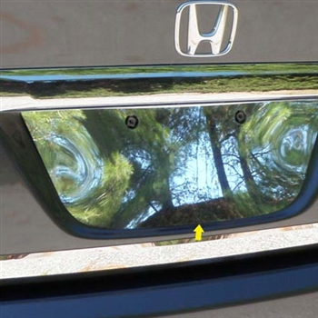 Honda Civic Sedan Chrome License Plate Bezel, 2006 - 2010
