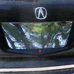 Acura MDX Chrome License Plate Bezel, 2007, 2008, 2009, 2010, 2011, 2012, 2013