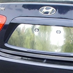 Hyundai Elantra Chrome License Plate Bezel, 2006 - 2010