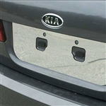 Kia Optima Chrome License Plate Bezel, 2006.5 - 2008