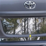 Toyota Corolla Chrome License Plate Bezel, 2009, 2010, 2011, 2012, 2013