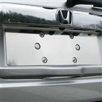 Honda Pilot Chrome License Plate Bezel, 2009, 2010, 2011, 2012, 2013, 2014