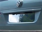 Volkswagen Routon Chrome License Plate Bezel, 2009, 2010, 2011, 2012