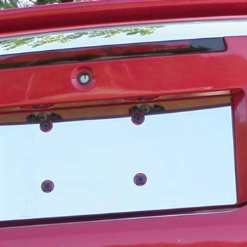 Ford Mustang Chrome License Plate Bezel, 1999 - 2004