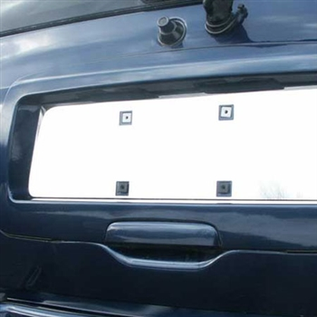 Chevrolet Trailblazer Chrome License Plate Bezel, 2002-2008