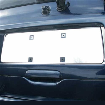 GMC Envoy Chrome License Plate Bezel, 2002 - 2009
