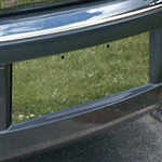 Chrysler 300 Chrome License Plate Bezel Trim, 2005, 2006, 2007, 2008, 2009, 2010