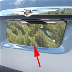 Chrysler Town & Country Chrome License Plate Bezel, 2008, 2009, 2010, 2011, 2012, 2013, 2014