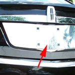 Lincoln MKS Chrome License Plate Bezel, 2009 - 2012