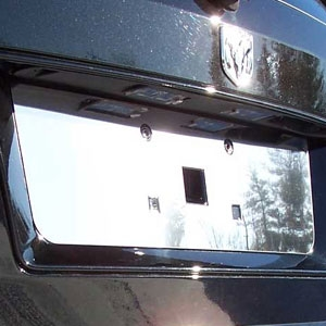 Dodge Journey Chrome License Plate Bezel, 2009, 2010, 2011, 2012, 2013, 2014, 2015, 2016