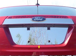 Ford Fusion Chrome License Plate Bezel, 2010 - 2012