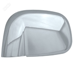 Dodge Ram Chrome Trim Mirror Cover, 2pc  2002 - 2008