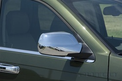 2005-2007 Jeep Grand Cherokee Chrome Mirror Covers