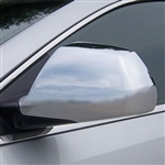 Cadillac CTS Sedan Chrome Mirror Covers, 2008, 2009, 2010, 2011, 2012, 2013