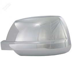 Toyota Sequoia Chrome Mirror Covers, 2008, 2009, 2010, 2011, 2012, 2013, 2014, 2015, 2016