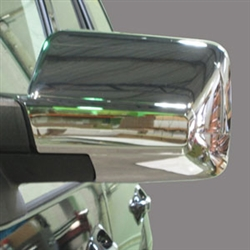 Lincoln Navigator Chrome Mirror Covers, 2015, 2016