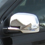 Dodge Journey Chrome Mirror Covers, 2009, 2010, 2011, 2012, 2013, 2014, 2015, 2016, 2017, 2018
