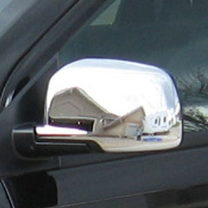 Dodge Journey Chrome Mirror Covers, 2009, 2010, 2011, 2012, 2013, 2014, 2015, 2016