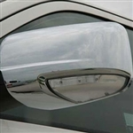 Dodge Ram Chrome Mirror Covers, 2009, 2010, 2011, 2012, 2013, 2014, 2015, 2016