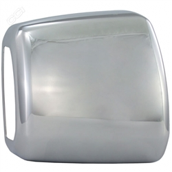 Toyota Tundra Chrome Towing Mirror Covers, 2007, 2008, 2009, 2010, 2011, 2012, 2013, 2014, 2015, 2016, 2017