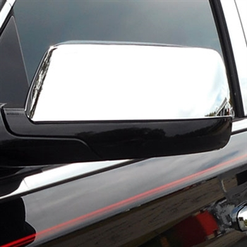 GMC Yukon Chrome Mirror Covers, 2015, 2016