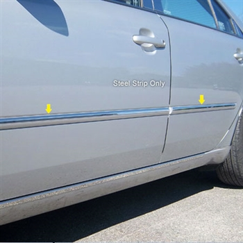 Hyundai Sonata Chrome Side Accent Trim, 4pc  2006 - 2010