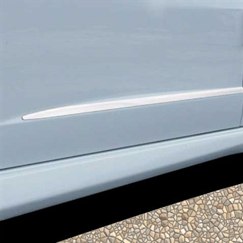 2009 - 2013 Honda Fit Stainless Steel Door Moulding Trim