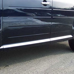 Ford Flex Chrome Door Molding Trim, 2009, 2010, 2011, 2012, 2013, 2014, 2015