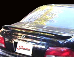 1998-2002 Mazda 626 Painted Rear Spoiler / Wing