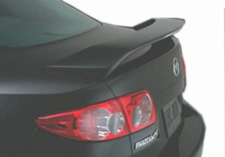 Mazda 6 Painted Rear Spoiler/Wing, 2003 - 2008