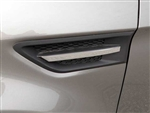 Kia Soul Chrome Port Hole Trim, 2pc  2010 - 2013