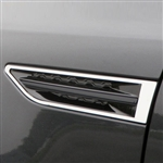 Kia Optima Chrome Port Hole Trim, 2011, 2012, 2013, 2014, 2015