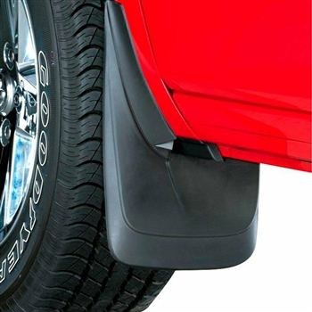 Dodge Challenger Pro-Fit Contoured Splash Mud Guards, 2009, 2010, 2011, 2012, 2013, 2014, 2015, 2016, 2017