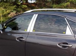 Lexus RX350 Chrome Pillar Post Trim, 2010, 2011, 2012, 2013, 2014, 2015
