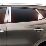 Hyundai Tucson Chrome Pillar Post Trim, 2010, 2011, 2012, 2013, 2014, 2015