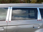 Kia Soul Chrome Pillar Post Trim 2010, 2011, 2012, 2013