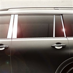 Infiniti QX56 Chrome Pillar Post Trim, 2011, 2012, 2013