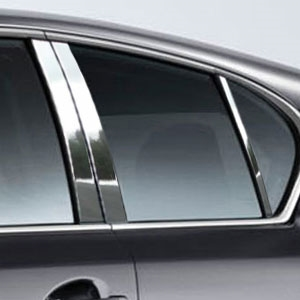 Lexus CT Chrome Pillar Post Trim, 2011, 2012, 2013, 2014, 2015, 2016, 2017
