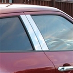 Nissan Juke Chrome Pillar Post Trim, 2011, 2012, 2013, 2014, 2015, 2016, 2017