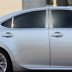 Lexus ES350 Chrome Pillar Post Trim, 2013, 2014, 2015, 2016, 2017