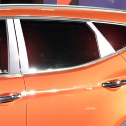 Hyundai Santa Fe Chrome Pillar Post Trim, 2013, 2014, 2015, 2016