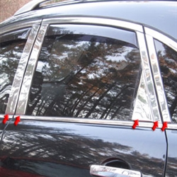 Infiniti QX50 Chrome Pillar Post Trim, 2014, 2015, 2016