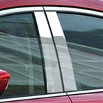 Mazda 6 Chrome Pillar Post Trim, 2014 - 2016