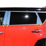 Kia Soul Chrome Pillar Post Trim, 2014, 2015, 2016, 2017, 2018