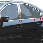 Subaru Legacy Chrome Pillar Post Trim, 2015, 2016, 2017, 2018