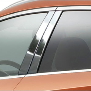 Nissan Murano Chrome Pillar Post Trim, 2015, 2016, 2017